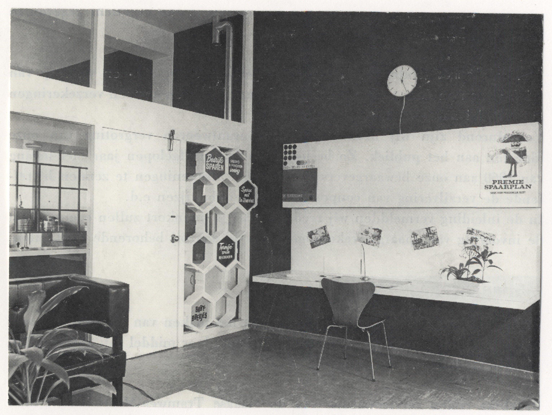 Interieur van het kantoor aan de Heeswijkplein 114
